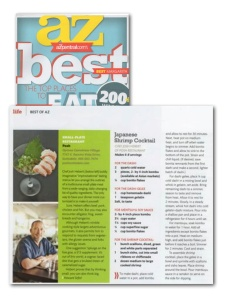 "AZ Magazine - ""Best Of"" - Small Plates"