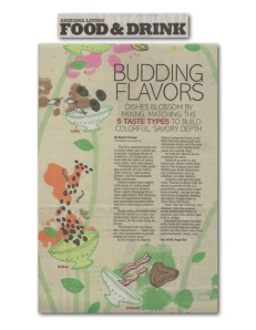"Arizona Republic - ""Budding Flavors"""